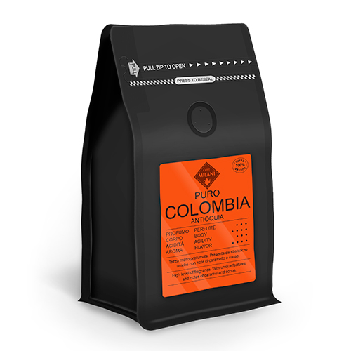 Puro Colombia coffee pack - Caffè Milani