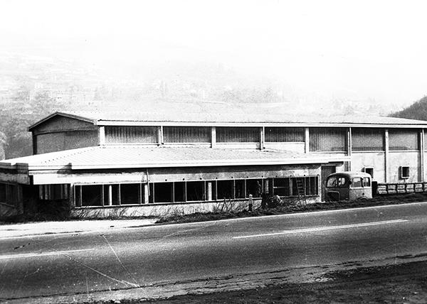 Foto storica fabbrica Caffè Milani