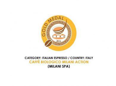 Caffè Milani premiato all'International Coffee Tasting 2016