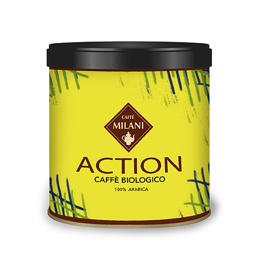 Lattina Action 125gr - caffè biologico