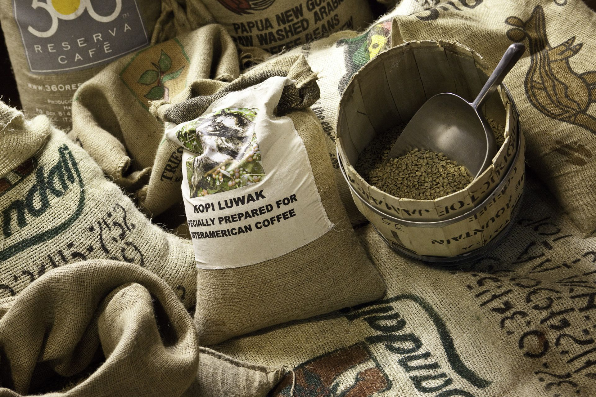 sacchi caffe crudo - Caffè Milani