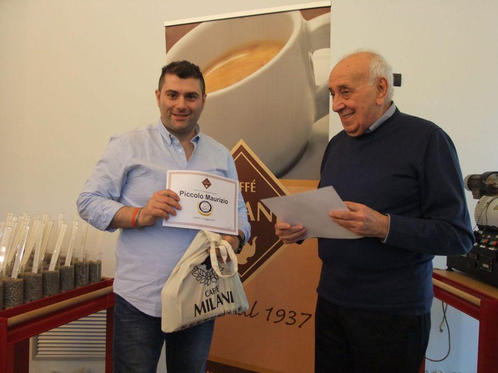 Espresso Italiano Champion - Il vincitore Maurizio Piccolo e Pierluigi Milani