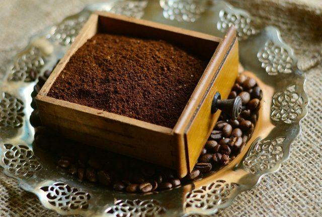 Benefici della polvere di caffè