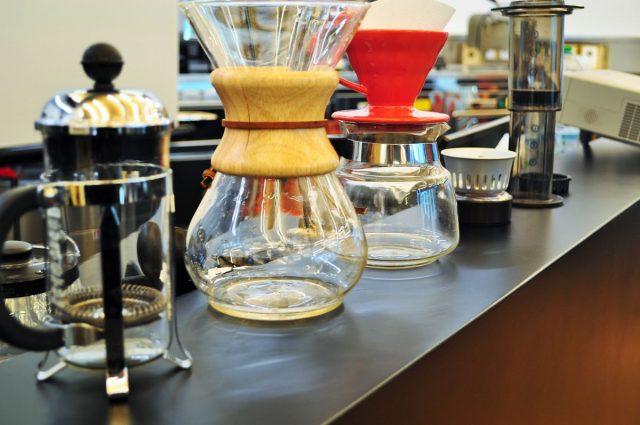 Formazione caffè - strumenti