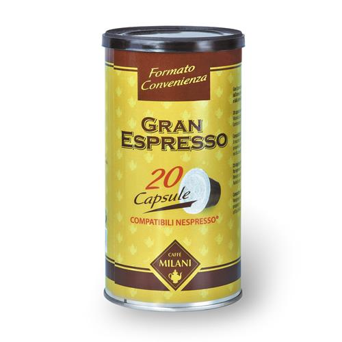 Gran Espresso Capsule - Formato Convenienza