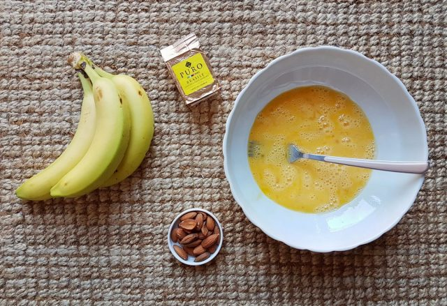 Torta alla banana al profumo di caffè e cannella