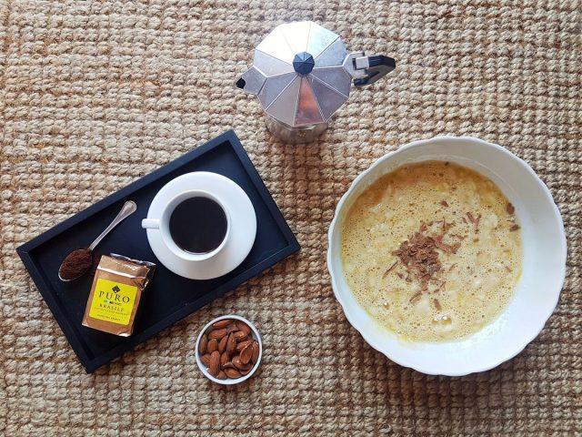 Torta al profumo di caffè e cannella