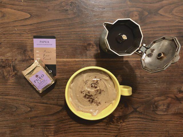 Frittelle alla crema di caffè