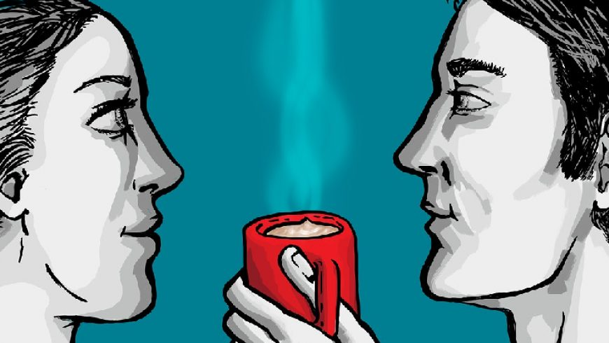 L'amore può inebriarti come una tazzina di caffè