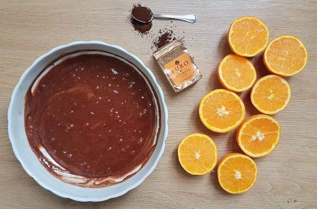 Torta sanvalentino caffè e cioccolato