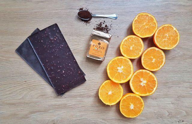 torta cioccolato e caffè
