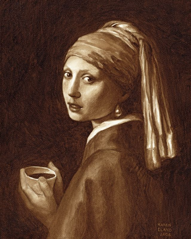 Girl with a Pearl Earring, c. Karen Eland 2006