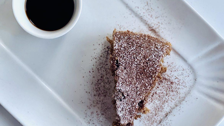 Per le mamme…torta all'acqua con caffè