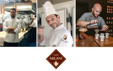 "I ""live"" sui social media di Caffè Milani"