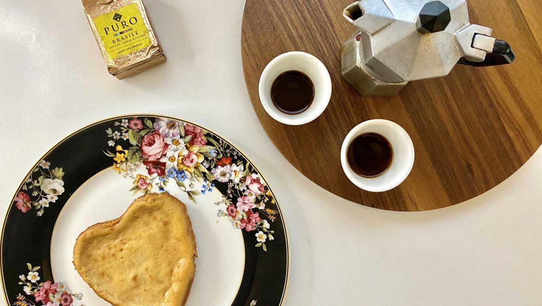 Per San Valentino: cuore dolce al caffè per due